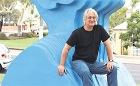 Article from the West Australian about Beseech Public Art for the City of Vincent 13 March 2013