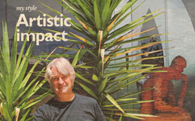 Article on Sculptor Ken Sealey from the Sunday Times 4 April 2010