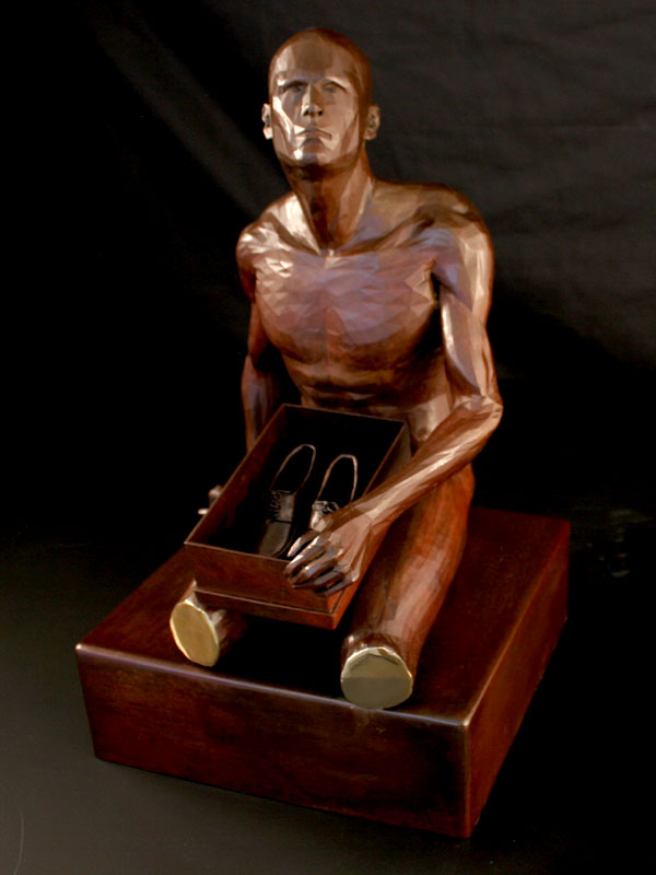 The Gift a limited edition bronze sculpture by Ken Sealey
