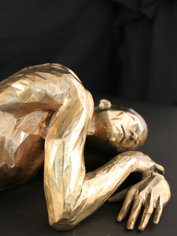 Gender a limited edition bronze sculpture by Ken Sealey